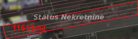 ODLIČNA VELIKA GRAĐEVINSKA PARCELA 11613 m2 POGODN