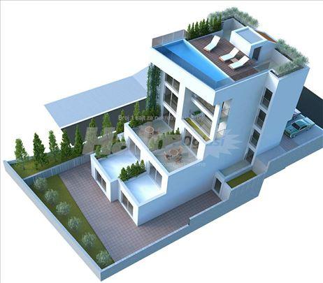 Lux penthouse u Tivtu