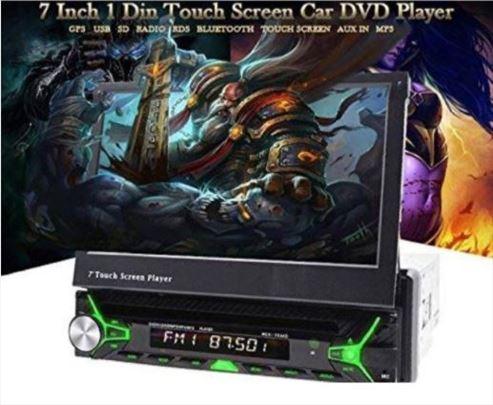 1din Multimedija 7in GPS/MP5 Bluetooth SD HD MCX