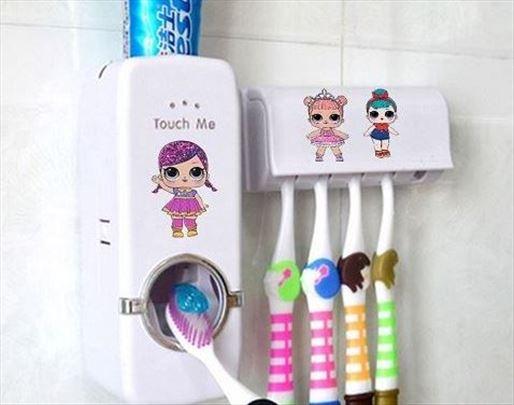 Automatski dozer za pastu za zube +držač četkica