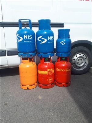 Prodaja, zamena, dostava plinskih boca i opreme