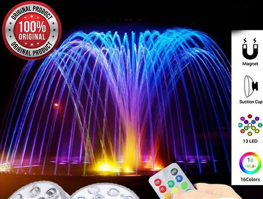 Rainbow shower led lampice na magnetu +daljinski