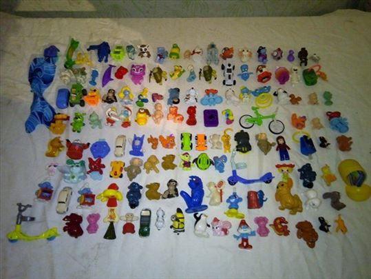 Kinder figurice, stanje kao na slikama