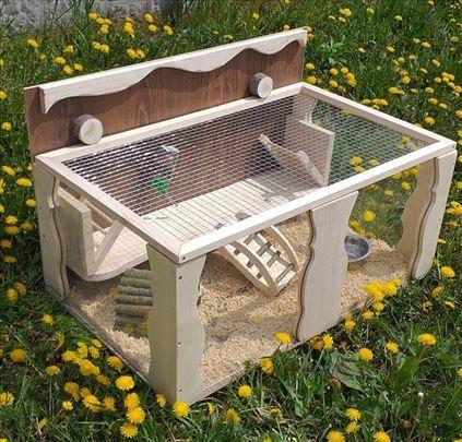Nov kavez za ježa, hrčka, morsko prase