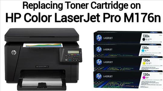 Original LaserJet Toner HP130A Cyan (CF351A)
