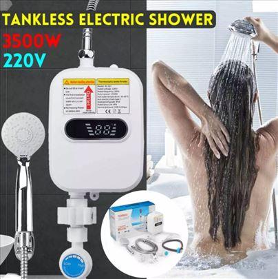 Mini električni grejač vode + tuš+LCD display