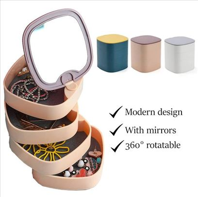 Rotirajuća kutija za nakit (Novo)