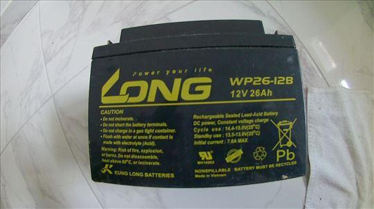 Long VRLA baterija 26ah