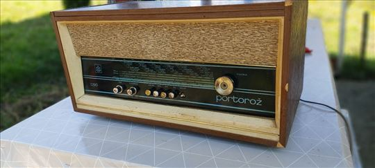 Radio gramofon Iskra Portorož