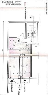 Zemun polje, dve garaže sa upotrebnom dozvolom, 33