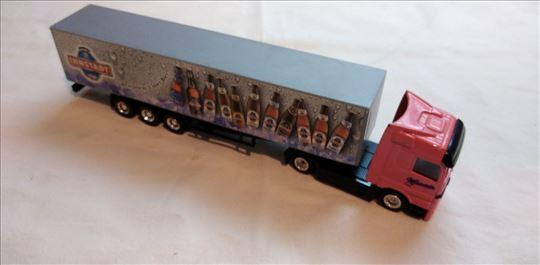 Kamion Mercedes sa prikolicom oko 1:87(19 cm. ) Ch