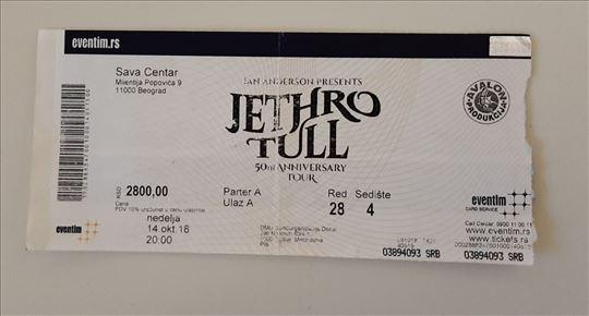 Jethro Tull - ulaznica za koncert Sava Centar 2018