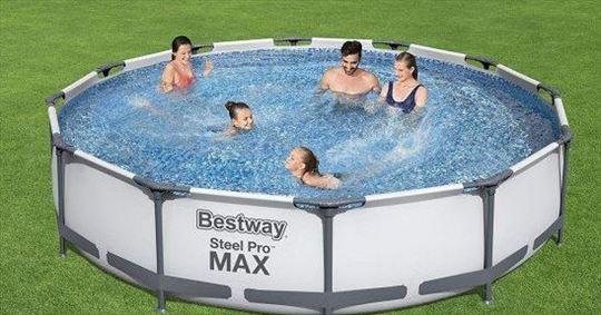 Najnoviji BESTWAY bazeni steel max pro! Akcija!