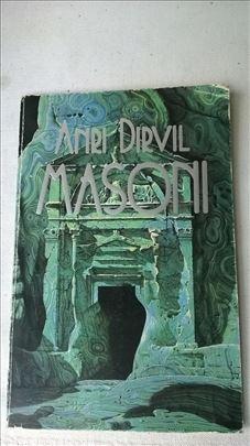 Knjiga: Masoni, Anri Dervil, 1991.97 str, srp.