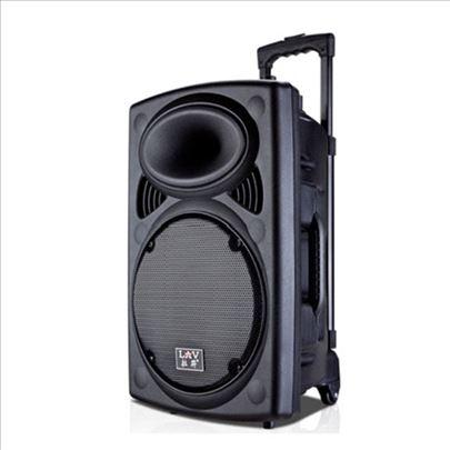 NOVO - Aktivan 15' zvucnik sa mixetom  i mikrofono