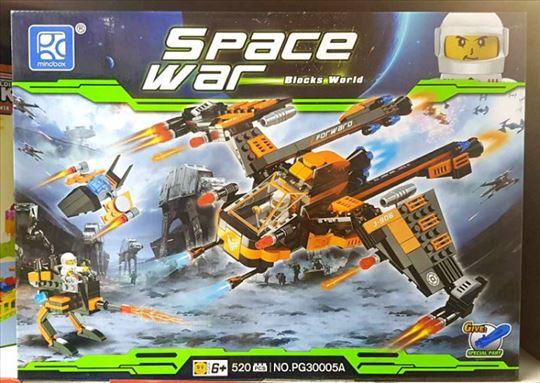 Odlican set kockica -Svemirski rat