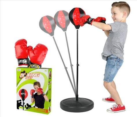 Odličan set-boks vreća za udaranje (Novo)