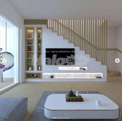 Lux kuće u nizu - Banovci, stanovi na 2 nivoa