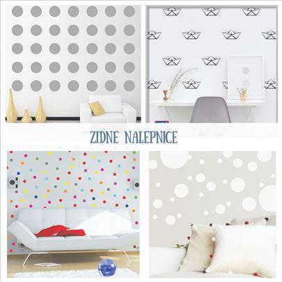 Zidne dekorativne nalepnice