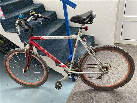 Bicikl 18 brzina servisiran, polovan