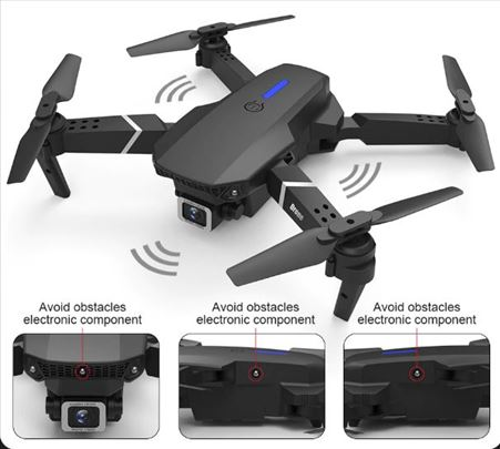 E525 Pro sklopivi dron 4K + torba +Senzori