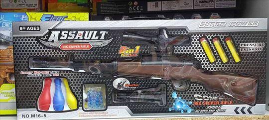 Set snajper puška- ispaljuje vodene metke