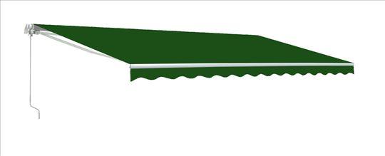 Tenda 4x2,5 ili 3x2m Jednobojna Zelena - Novo