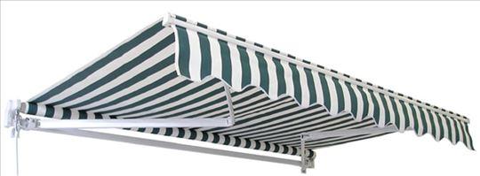Tenda Zeleno Bela 3x2 i 4x2.5m - Novo