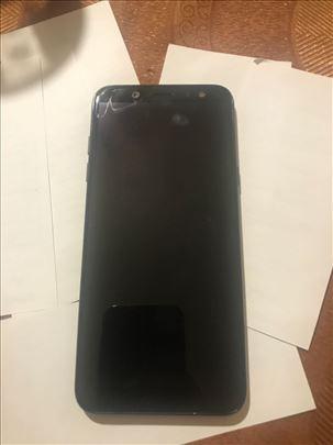 Samsung A6  polovan, ocuvan, crni