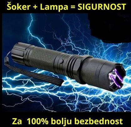 Baterijska lampa sa elektrošokerom