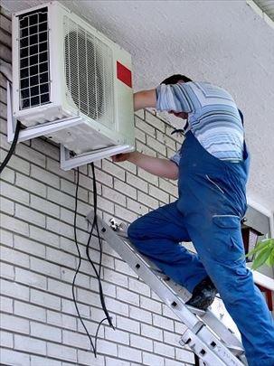 Ugradnja i servis svih vrsta klima uređaja