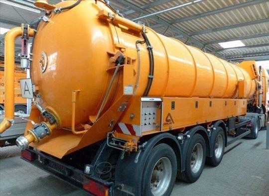 Čišćenje septičkih jama i separatora cisternama