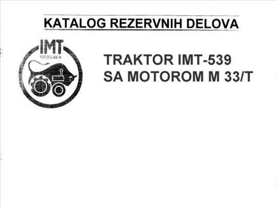 Imt 539/533 katalog rezervnih delova