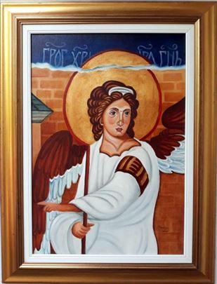 Beli Anđeo - 70x50cm