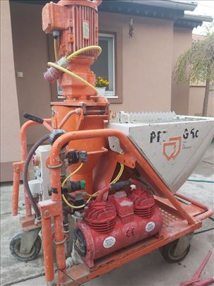 Mašina za mašinsko malterisanje PFT 5