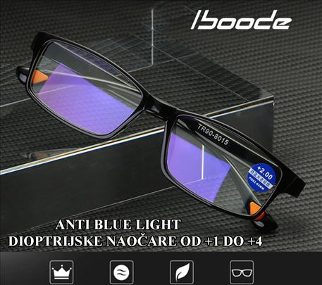 Iboode Anti Blue Light dioptrijske naočare +1do+4