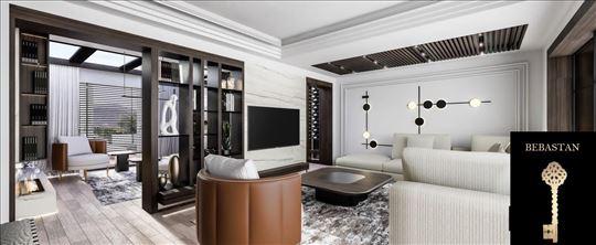 Luksuzni stanovi na Dedinju / 4.0 / bazen/dvoriste