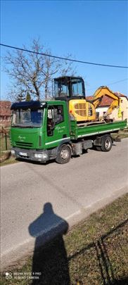 Prevoz gradjevinskog materijala, zemljani radovi