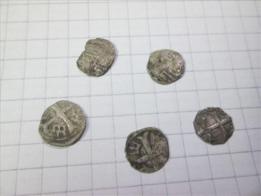 5 srebrnih parvusa