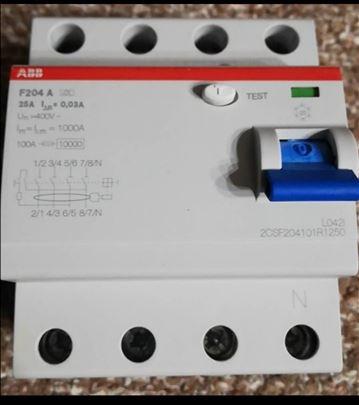 Novo-ABB trofazna fid sklopka F204 A-25A 0,03 . .