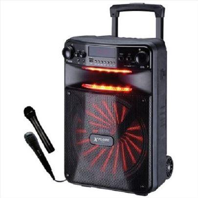 Prenosni karaoke sistem 600W Fiesta Xplore