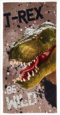 T-Rex Veliki Peskir za Decu Nov 70x140 cm Akcija