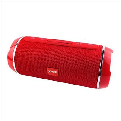 Bluetooth zvučnik XP8331 crveni XPLORE