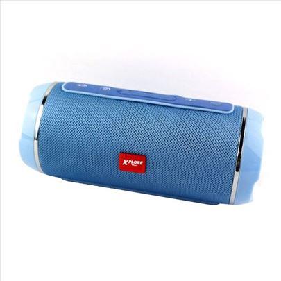 Bluetooth zvučnik XP8331 plavi XPLORE