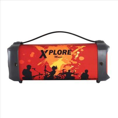 Bluetooth zvučnik XP848 crni Xplore