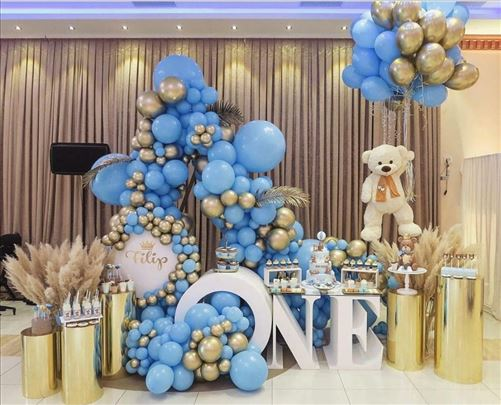 Dekoracija balonima za proslave