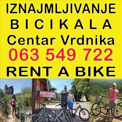 IZNAJMLJIVANJE bicikala Banja Vrdnik, Fruska gora