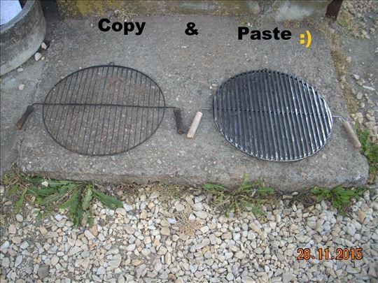 Izrada svih vrsta rešetaka za roštilj i šporeta 4