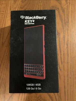 Black Berry Key2 Red