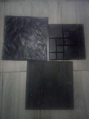 Pravim kalupe za stampani beton, dekorativni kamen